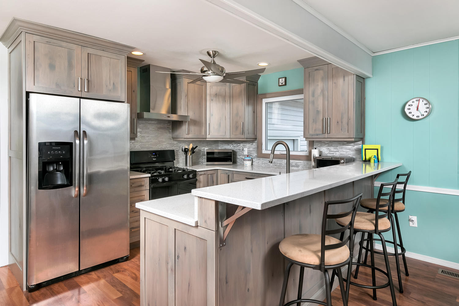 Pewter Perfection Small Kitchen Toms River New Jersey by ...
