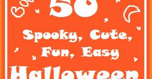 50 Halloween Crafts & Ideas - Red Ted Art's Blog