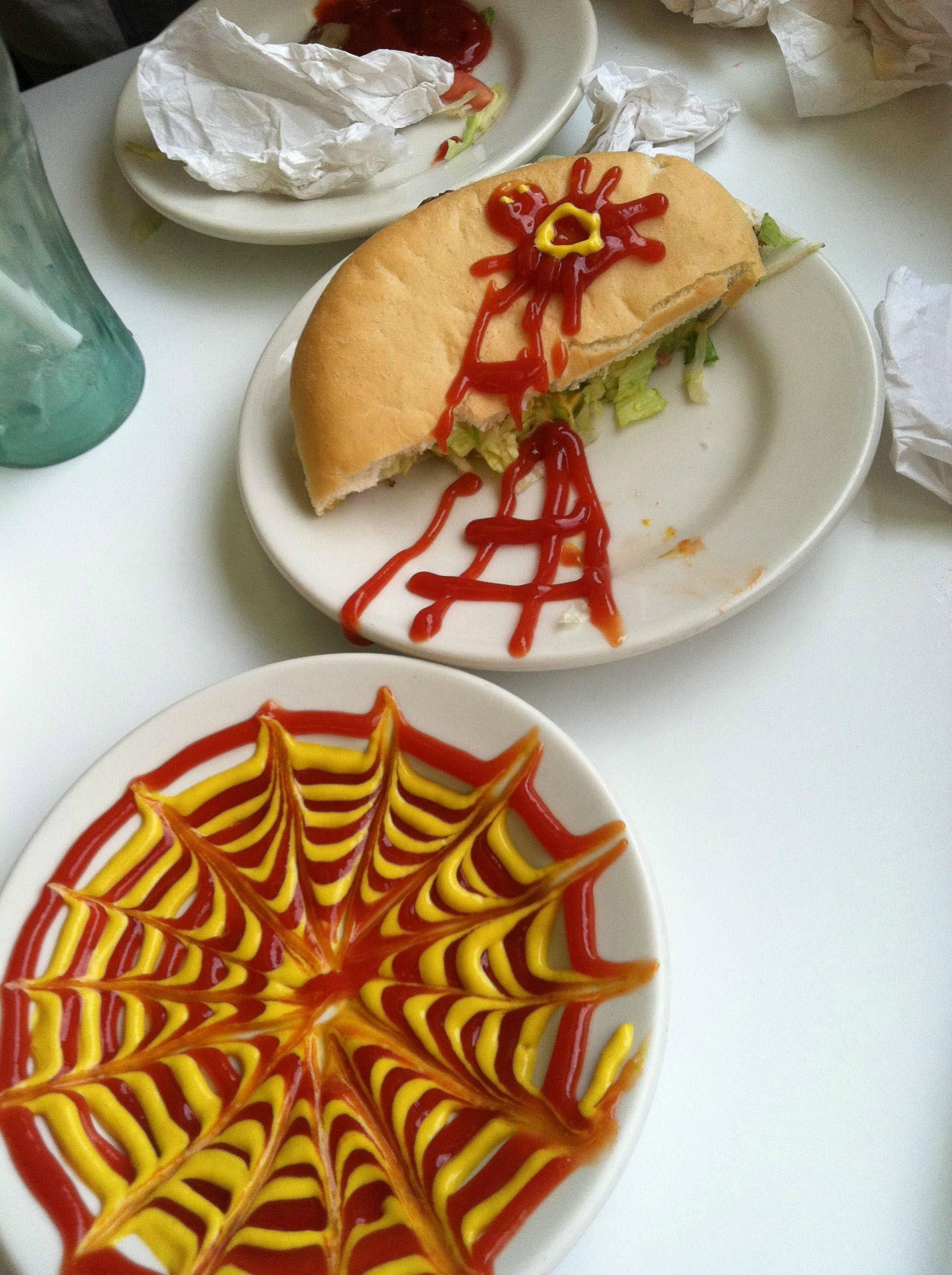 Playing with my food or art? ART - muwasalat.com