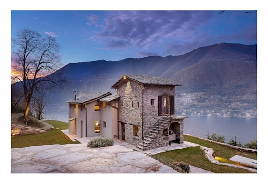Charming Stone House in Lake Como | Residential Design | Design & Lifestyle Blog