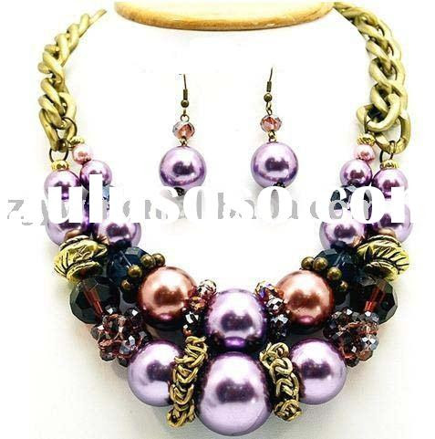 Purple Jewelry on Chunky Jewelry Set  Chunky Jewelry Set Manufacturers In Lulusoso Com