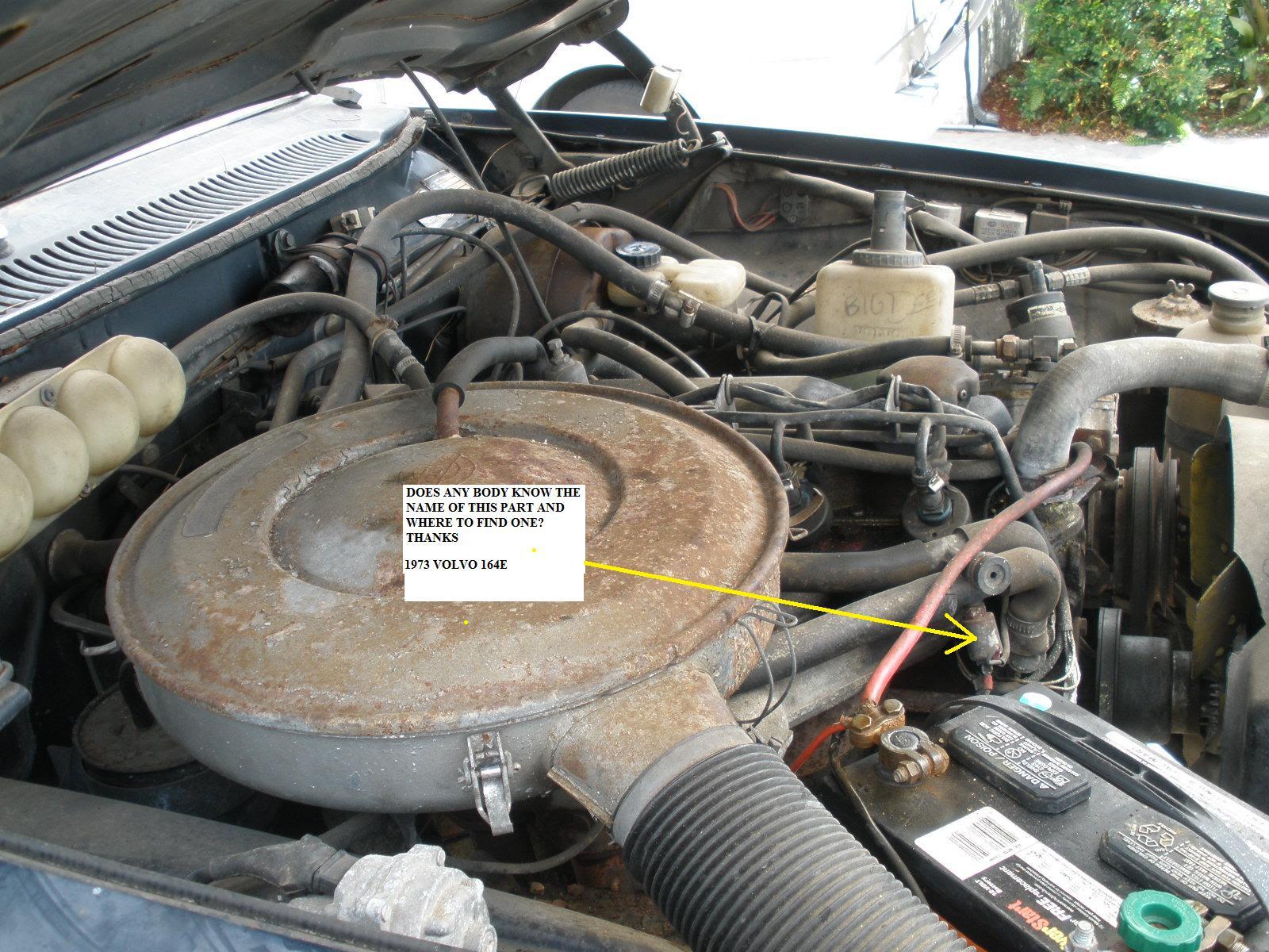 Volvo 164 Engine Diagram
