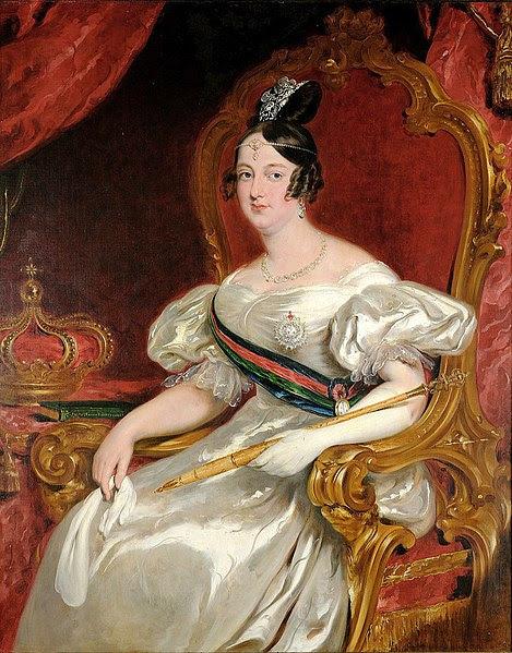 Ficheiro:Queen Maria II by John Simpson.jpg