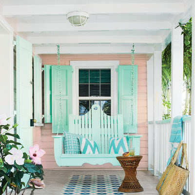 Pink Beach Cottage in the Bahamas