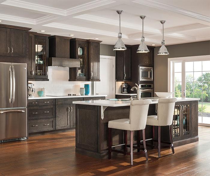 Dark Gray Kitchen Cabinets - Aristokraft Cabinetry