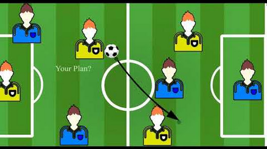 academic presenter football template