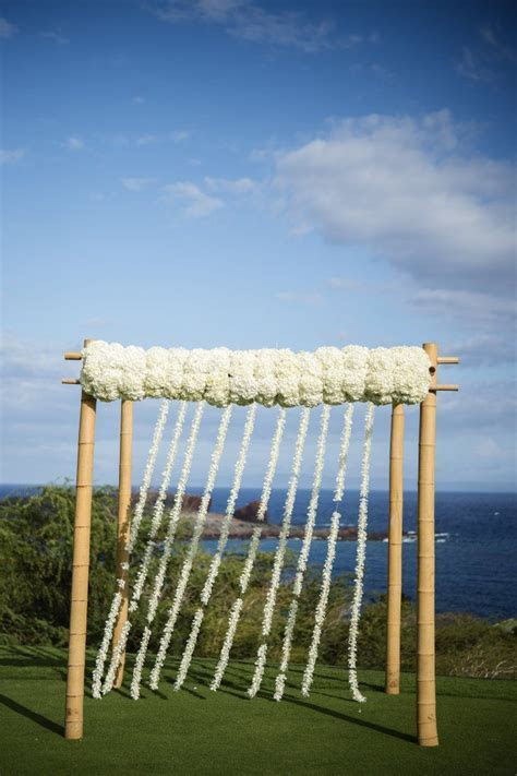 Bamboo Ceremony Arch   Four Seasons Resort Lanai https