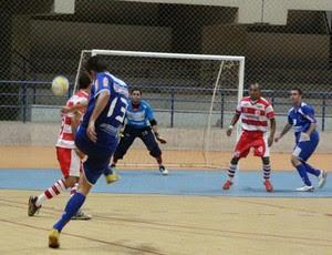 Cruzeiro/Assu venceu o primeiro e o segundo turnos do Campeonato Potiguar de Futsal (Foto: Wendell Jefferson/Cedida)
