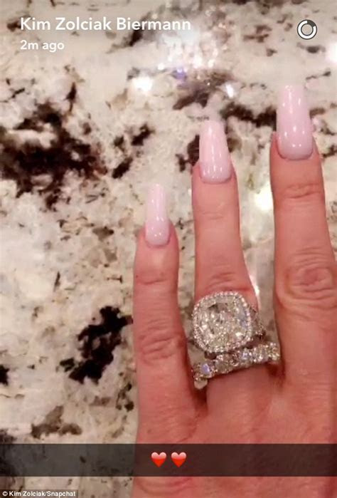 Kim Zolciak gushes over stunning diamond ring that's early