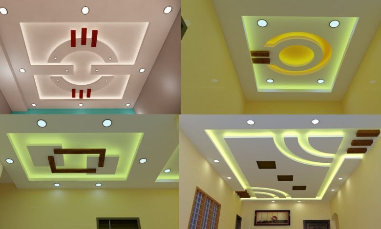 Modern And Beautiful False Gypsum Ceiling Designs For Living And Bedrooms Home Pictures
