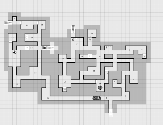Map: Der Dungeon Level 1