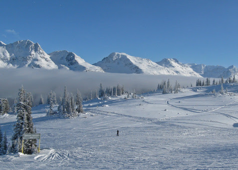 Skiing and Snowboarding at Whistler Blackcomb (Canada)