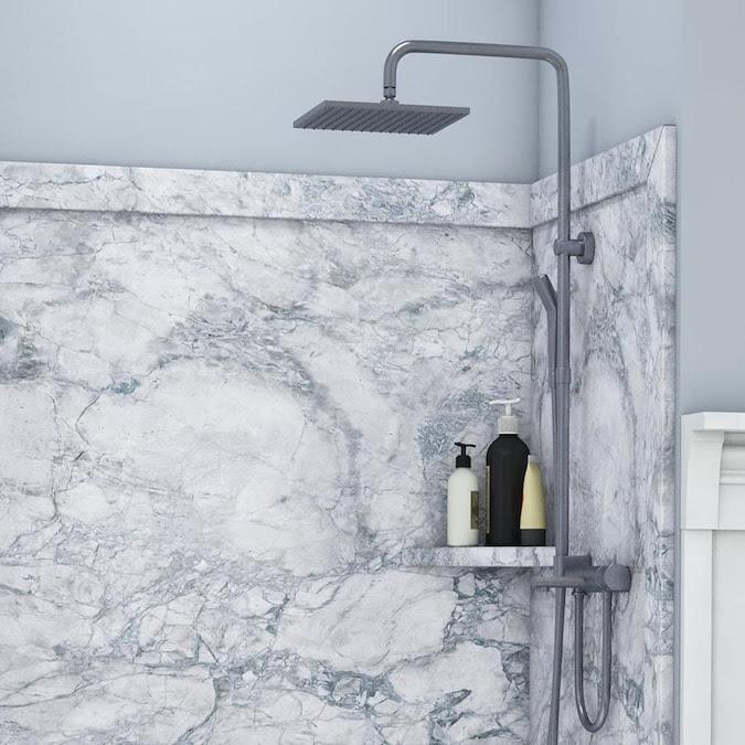 FlexStone Elegance 3 Everest Panel Kit Shower Wall ...