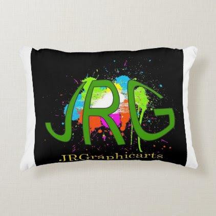 JRGraphicarts Accent Pillow