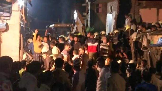 Mumbai: भारी बारिश के बाद गिरी 4 मंजिला इमारत, 11 लोगों की मौत; 7 गंभीर रूप से घायल
