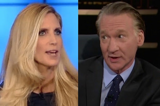 Bill Maher Calls Cancellation of Ann Coulter's Speaking Gig 'Liberals' Version of Book Burning'