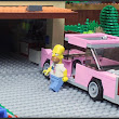 LEGO Simpsons Couch Gag