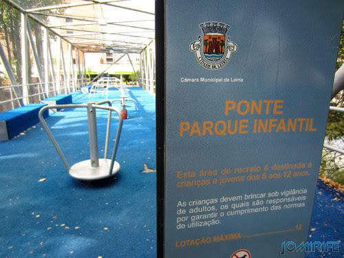 Jardim do Polis Leiria (Oeste) - Ponte Parque infantil (4) [en] Polis Garden of Leiria, Portugal