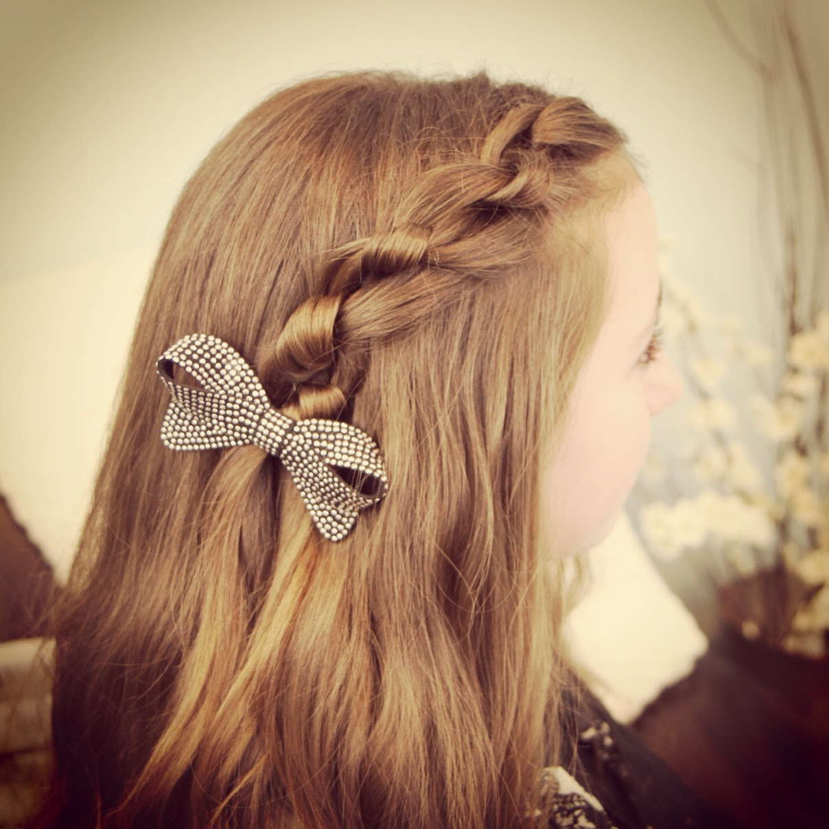 Knotted Pullback Easy Hairstyles Bride Hair Braided 2014
