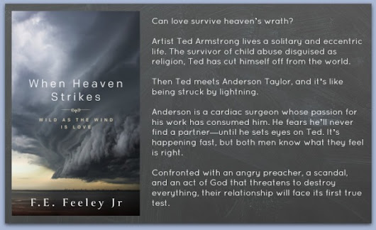 Blog Tour and Giveaway ~ When Heaven Strikes by F.E. Feeley Jr.