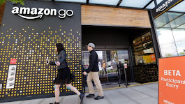 The future of grocery shopping? Amazon's checkout-free store opens to the public