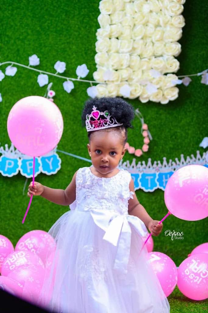 Nollywood Celebrities Storm Actress Oge Aneke's Daughter's 1st Birthday (Photos)