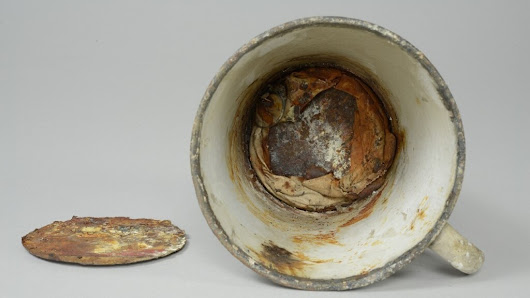For 70 Years, A Mug In Auschwitz Held A Secret Treasure