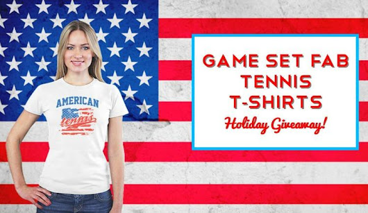Holiday Tennis Giveaway With Game Set Fab!