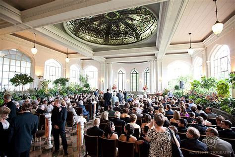 Ceremony in the conservatory in Casa Loma   Venues toronto
