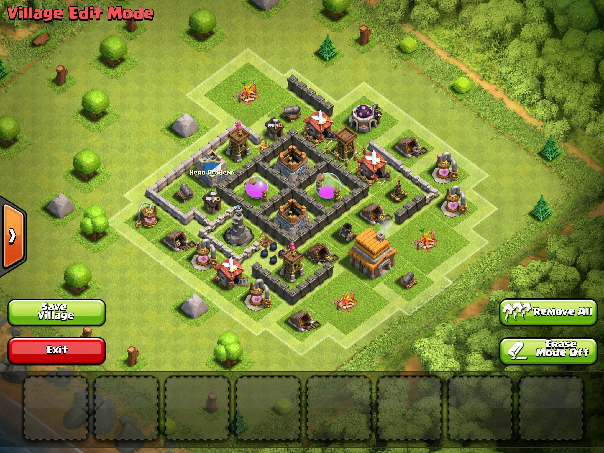 The Worlds First Anti Hog Town Hall 5 Base Design