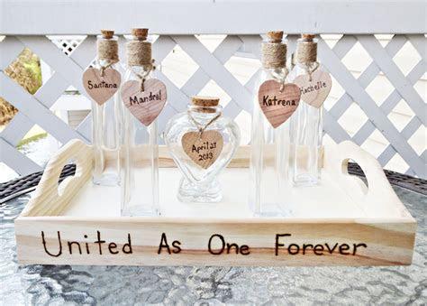 Custom Heart Shaped Vase Wedding Unity Sand Ceremony   Set