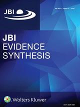 JBI Evidence Synthesis