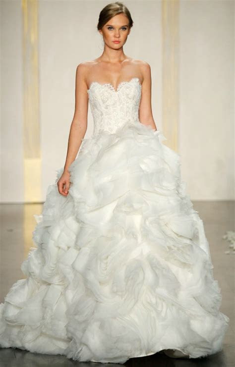 Favorite Ballgown Wedding Dresses of 2012   OneWed