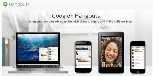 Google Hangouts a New All in One Messaging Service