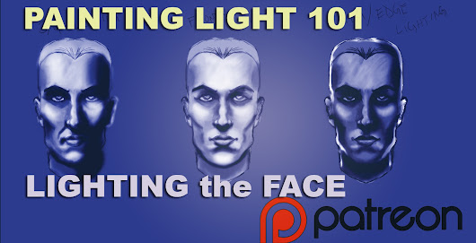 Painting Light 101 : Lighting the face