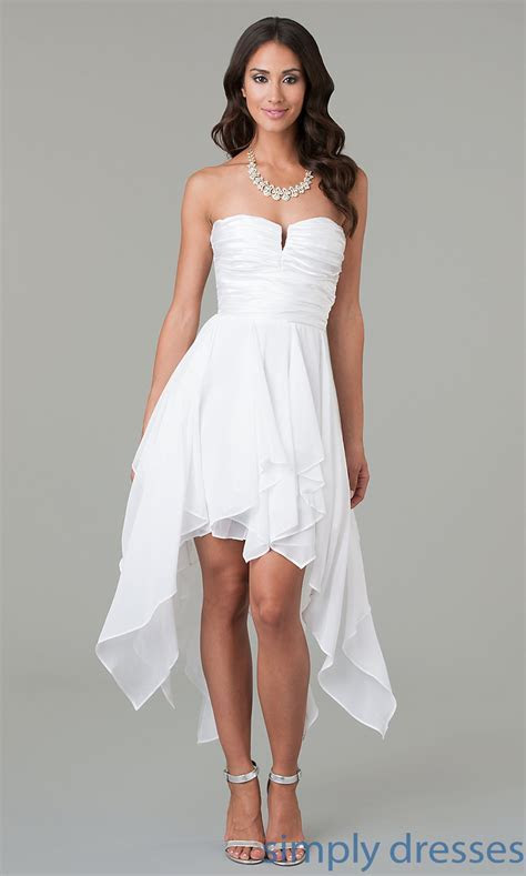 Short off white wedding dresses   All women dresses