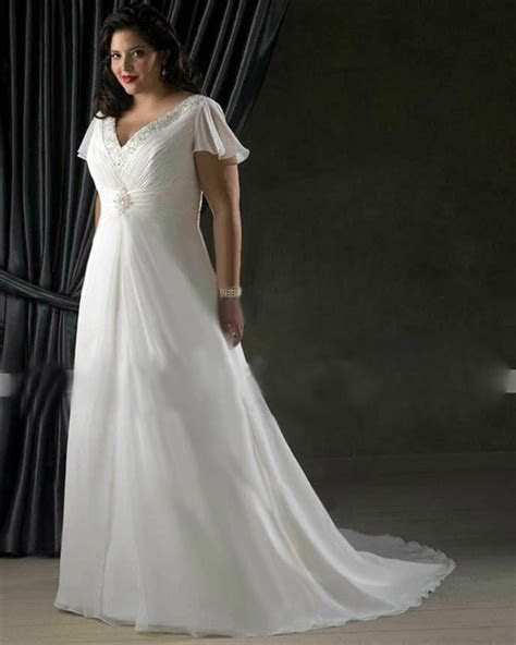 white ivory chiffon wedding dress bridal gown custom