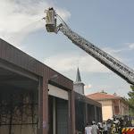 Collonges | Un incendie a touché le bâtiment des services techniques ainsi que la caserne des pompiers