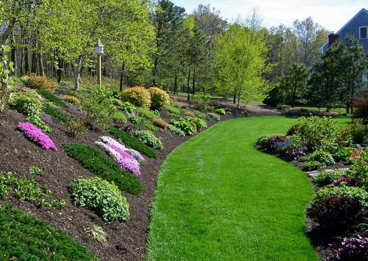 Hill Side Landscaping Ideas