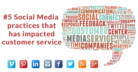 5 Social Media Practices that have impacted Customer Service
