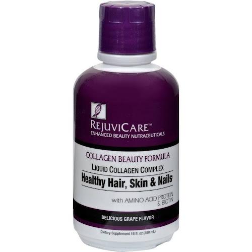RejuviCare Collagen Beauty Formula, Liquid, Delicious Grape Flavor - 16 fl oz