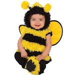 Rubies 278667 Halloween Baby Bumble Bee Costume - Toddler