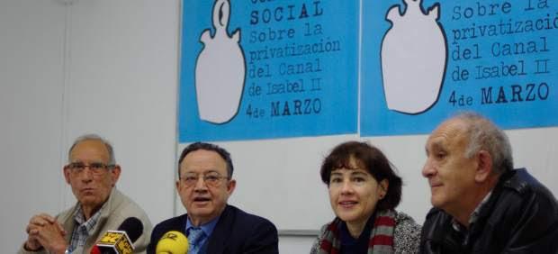 Consulta sobre la privatización del Canal de Isabel II