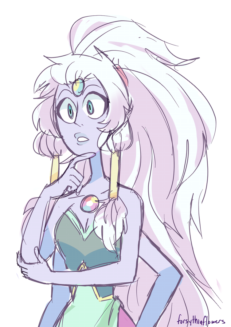 got the sudden urge to draw opal! sorry this looks so rushed!