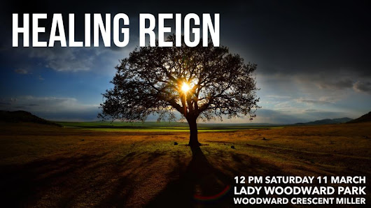 Healing Reign event - Saturday 11th March - Kingdom Reign Ministries