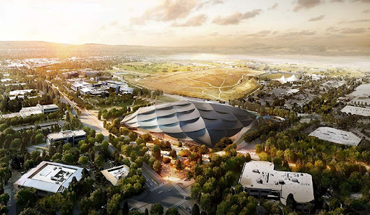 see new images of google's mountain view campus in california