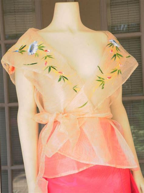 filipiniana dress images  pinterest