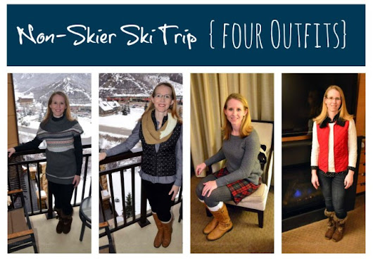 Non-Skiers Guide to What to Wear During a Ski Vacation - Suitcases and Sippy Cups