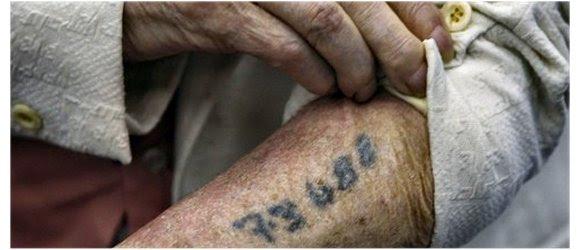 Tatuagem número Campo Concentração