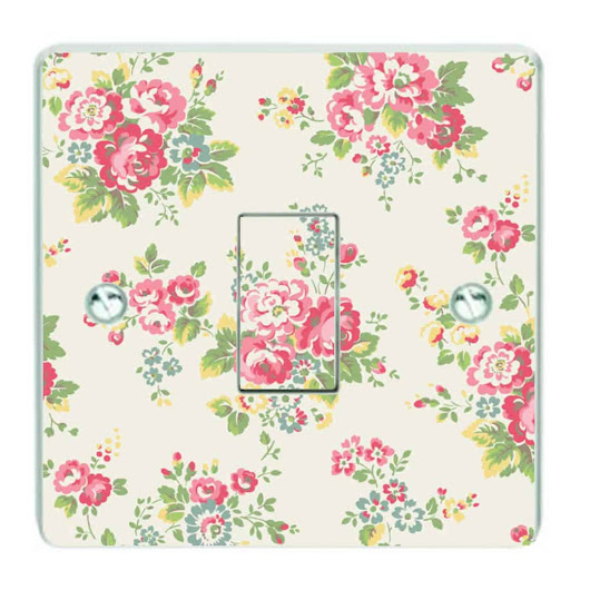 Patterned Light Switch Sticker | Patterned Light Switch cover